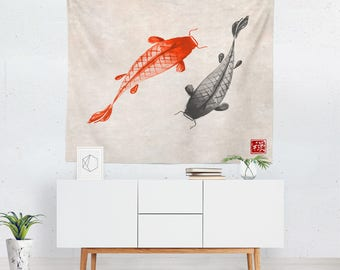 Japanese Tapestry | Japanese Wall Tapestry | Japanese Wall Décor | Japanese  Tapestries | Japanese Wall