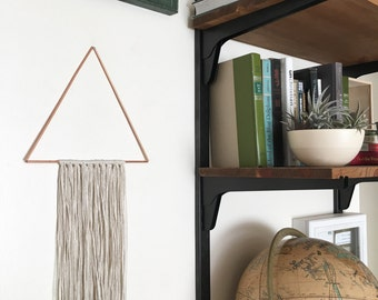 Wylie Wall Hanging - Copper + Cotton