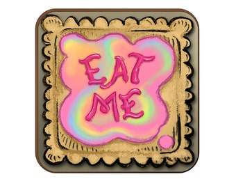 Eat Me Alice coaster