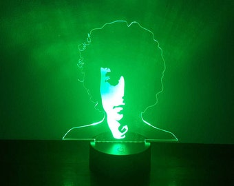 Bob Dylan LED lamp