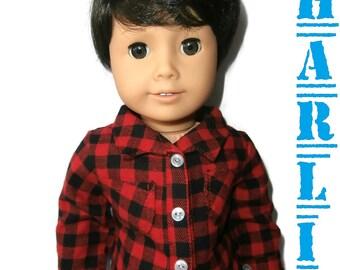 """American Girl Boy Doll Custom 18"""" Boy Doll Charlie *Brand New*"""
