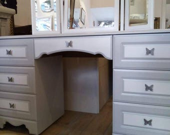 SOLD - Amazing Dressing Table with Mirror.