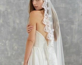 Wedding Veil Mantilla Cathedral Lace Veils