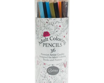 Adult Coloring Pencils - 36/Pack