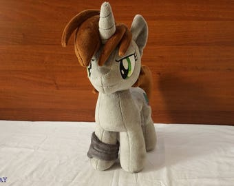 MLP Littlepip  Fallout Equestria handmade plush
