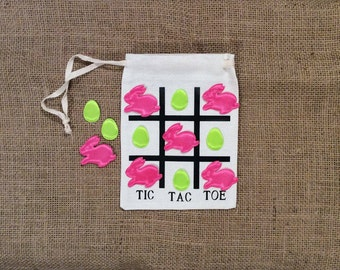 Easter Tic Tac Toe/ Tic Tac Toe/ Easter Game/ Easter/ Bunnies/ Easter Eggs