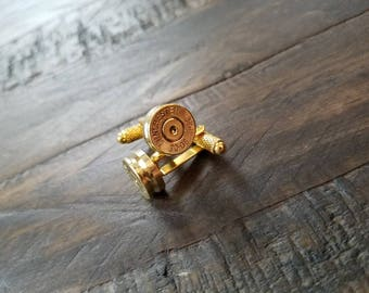 Handmade Spent Bullet Cuff Links Bullet Cufflinks Men's Accessories 30.06 .243 .270 .308 .223