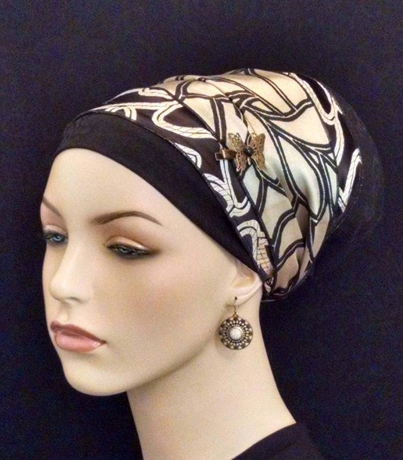 Exquisite gold brocade and Paisley weave sinar tichel, apron tichels, tichels, chemo scarves, head scarves, mitpachat, hair snood