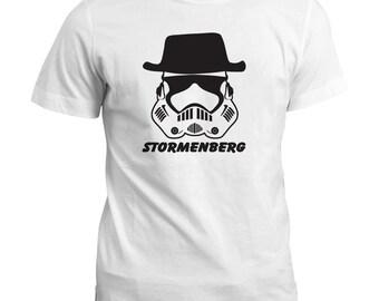 T Shirt | Stormenberg Funny T-Shirt | Stormtrooper | Walter White | Heisenberg Gift Tee Top