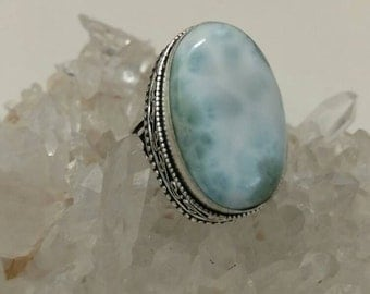 CLEARANCE *Larimar Ring Size 7