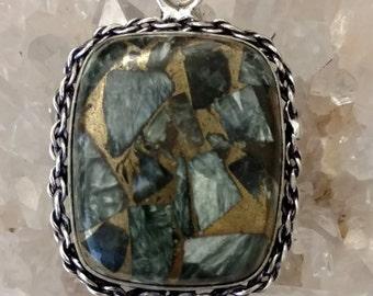 CLEARANCE *Beautiful Copper Seraphinite Necklace