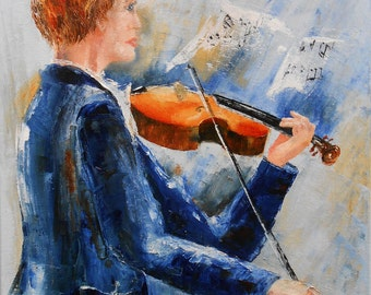 "Painting ""Fiddler player"""