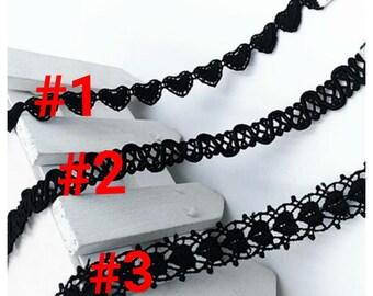 Choker Necklace,  Black