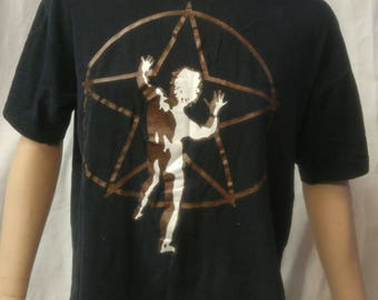 Vintage October 1, 1992 RUSH Special Edition t-shirt with STARMAN image from the back of the 2112 album cover size Large