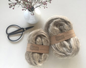Flax Fibers Natural / Vlas lont