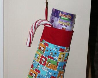 Peanuts/Snoopy Christmas stocking 011  Red Baron carton