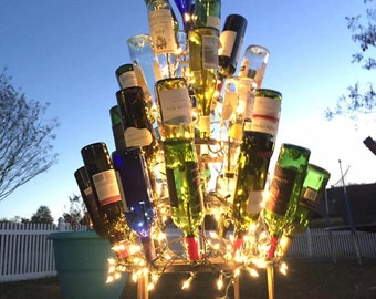 Small Wine Bottle Tree