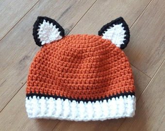 Fox Tuque for children The Hat and I boss