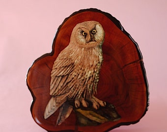 Owl #26 | Vintage | Wood Wall Piece | The Owl Collection