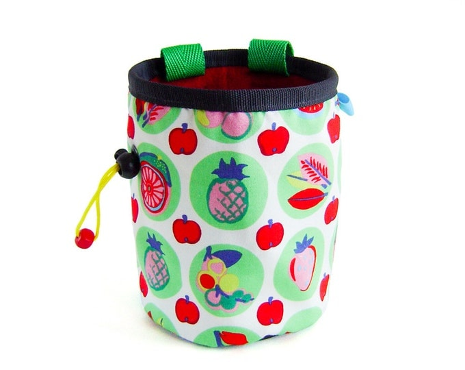Chalk Bucket Climbing. Bouldering Chalk Bag. Rock Climbing Chalk Bucket Bag Large Hands, XL Size