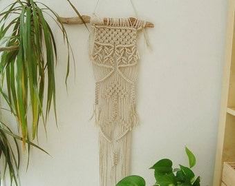 Macrame handmade tapestry