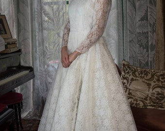 Martha 1950s Vintage Wedding Dress