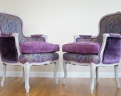 Custom listing for Faizah - Pair of French Bergere