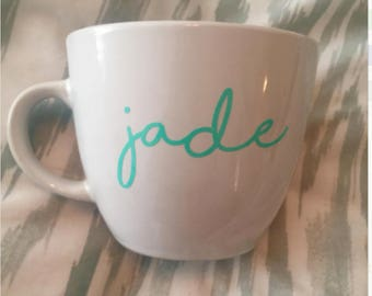 Coffee Mug - Personalized Coffee Mug - Custom Coffee Mug- Custom Logo Mugs-Personalized Mug-Custom Quote -Design your own-Bridesmaid gift