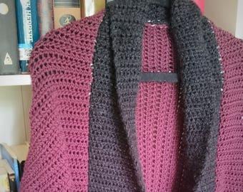Women's crochet shrug (Merino Wool Version)