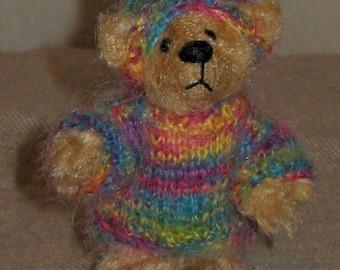 Hand made miniature bear