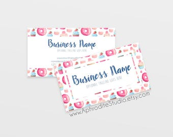 Bakery business card | Etsy