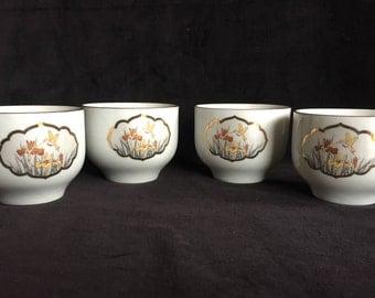 Vintage Chokin Tea Cups