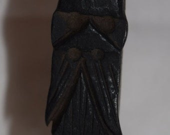 Blacksmith Hand Forged Wizard From Railroad Spike Gnome Elf Decoration