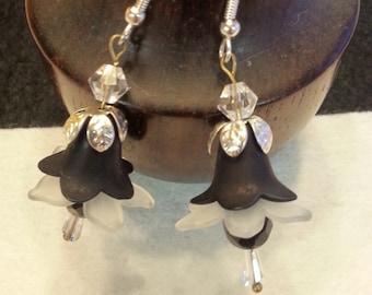 Victorian Bell Flower earrings