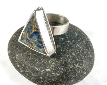 Pietersite Statement Ring