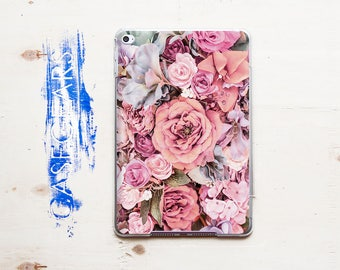 Floral iPad Air 2 Case Peony iPad Air 2 Cover iPad Mini 4 Cover Clear iPad Case FloweriPad Mini 4 Case iPad Air 3 Case iPad 10.5 CGPAD0039