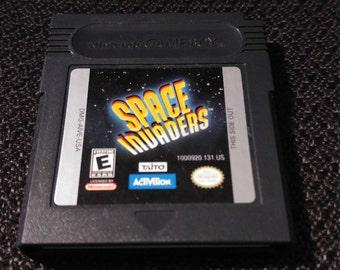 Space Invaders Nintendo Gameboy cartridge video game