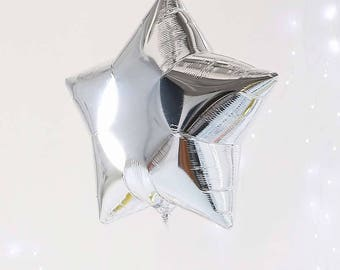 """Silver Star Balloons 