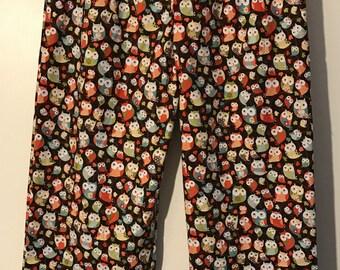 Curious Owls Pajama Pants