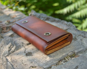 Leather wallet women, vintage leather wallet, mens wallet,  women leather wallet,  leather travel wallet, gift for him, mens leather clutch