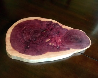 Cedar wood cutting/serving boards