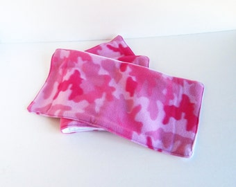 Pink Burp Cloth Set Camo, Camo Burp Cloth, Pink Burp Cloth, Diaper Cloth Burp Rag, Baby Girl Gift, Pink Camo Burp Rag, Spit Up Rag