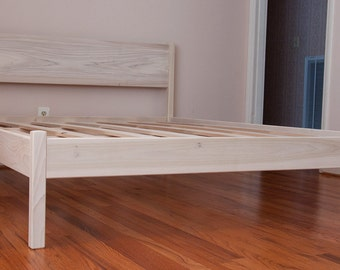 FULL PLATFORM BED (with headboard)