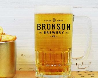 Personalised Trademark Brewery Beer Mug