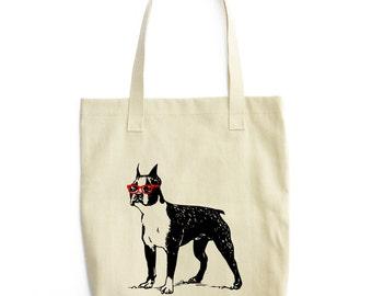 Boston Terrier Gift | Boston Terrier Tote | Boston Terrier Bag | Boston Terrier Present | Funny Boston Terrier Gift | Gift for Dog Lover