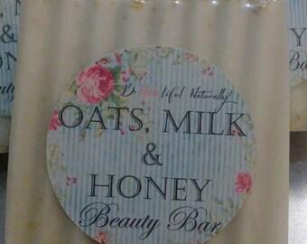 Oats, Milk & Honey Organic Beauty Bar