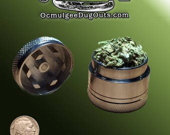 Mini Magnetic Herb Grinder & Storage Container