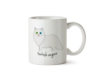 Turkish Angora Mug