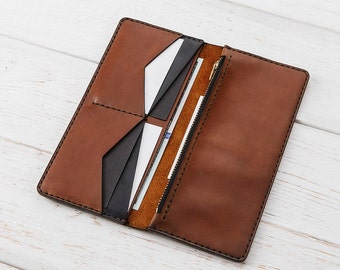 Wallets for Women, Wallet Purse, Zipper Wallet, Women Wallet, Leather Wallet, Zipper Leather Wallet,Mens Leather Wallet,Clutch Wallet,Wallet