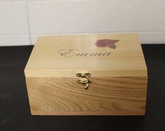 Personalized Keep sake box